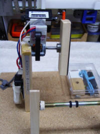 Tracy's self built pickup winder